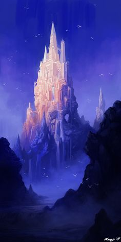 The Tower of Erian by Kyomu on deviantART