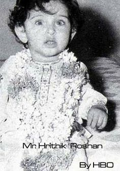 Here are our macho Bollywood heros as little delicate babies. They all look so cute.