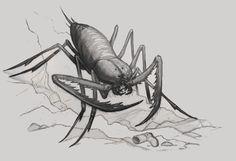 Llaric Scorpion, Numenera Beastiary