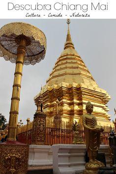 O que fazer em Chiang Mai? Atrações, onde ficar e os nossos lugares preferidos! Como planejar sua viagem para Chiang Mai na Tailândia. Melhores lugares para ficar, o que fazer em Chiang Mai, dicas de viagem para curtir a cultura, a natureza e a comida da cidade. via @loveandroad