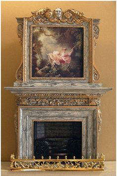Sue Cook fireplace
