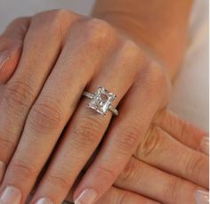 Please show me your Emerald Solitaire or w/ Tapered Baguettes! - Weddingbee