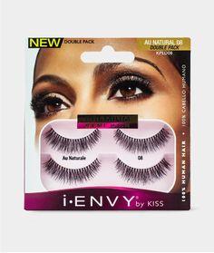 KISS i-ENVY Premium Au Naturale 08 Double Pack (KPED08)