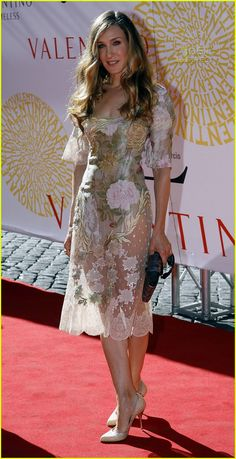 Sarah Jessica Parker in Valentino
