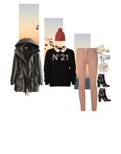 """№21"" by chemical-engineer ❤ liked on Polyvore featuring N°21, Brunello Cucinelli, Isabel Marant, Eos, women's clothing, women, female, woman, misses and juniors"