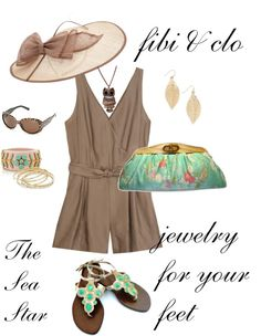 Beautiful Sea Star sandal by fibi & clo. Contact me to order yours jen.spencer@live.com