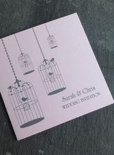 Sarah and Chris - Day Invitation