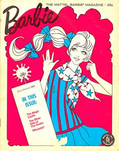 Old Barbie Fashion Games Barbie Magazine by Mattel