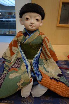 藤村光環・正子展~お人形たち2~ : 市松人形師~只今修業中