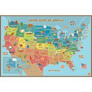 WallPops Kids World Dry Erase Map Decal - Walmart.com