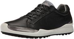 ECCO Men's Biom Hybrid Hydromax Golf Shoe, Black/Black Solid, 45 EU/11-11.5 M US