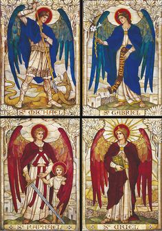 May Archangels Be With You Archangels are heralding Angels, who give out Gods messages to humanity. Gabriel, Raphael, Uriel and Michael are the best known Archangels. Each of them just as powerful as the next, they each have their own Divine assignment or blueprint and work very closely with humanity when called upon.