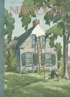 The New Yorker - Saturday, June 12, 1948 - Issue # 1217 - Vol. 24 - N° 16 - Cover by : Alan Dunn