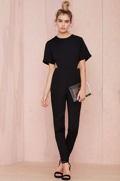 Asilio Step Aside Cutout Jumpsuit