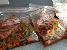 I'm A Celiac: Gluten Free Freezer Meals