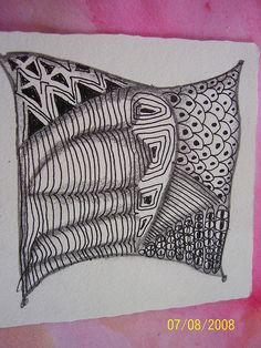 Zentangle 2 by siffes, via Flickr