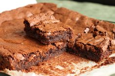 Scientifically the most DELICIOUS brownie recipe EVER!  My family begs and begs for these since I found the recipe
