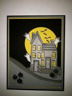 Halloween Night by rmy - Cards and Paper Crafts at Splitcoaststampers  Stampin' Up!