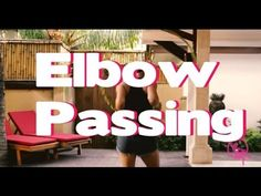 Elbow Passing ( in front and back) Hula Hoop Tutorials and Tips - YouTube