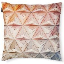 Colchas e almofadas 3D  Geogami Cushion Orange-Pink