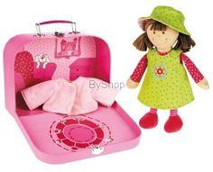 Sigikid  Lalka szmaciana Lara w walizce
