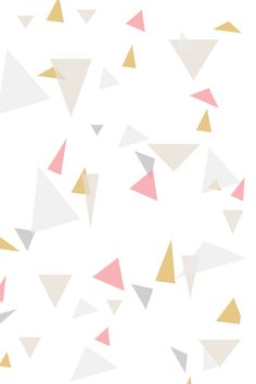 Pastel Geometric iPhone Wallpaper @PanPins