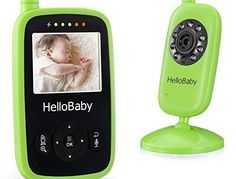 Portable Video Baby Monitor Night Vision Smart Camera with Temperature Monitors Hello Baby HB24 | Baby Video Monitor Reviews And Ratings