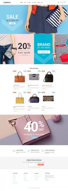 Kerbelco - Handbag store PrestaShop Theme #63627