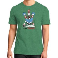 Read Across America District T-Shirt (on man)