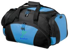 Dance 2 Personalized - Light Blue - Metro Duffel Gym Travel Bag FREE Shipping - all about me company