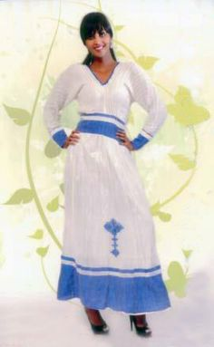 modern and traditional Ethiopian dresses