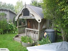 GORGEOUS ~Swiss Chalet Style~ PLAYHOUSE   Trade Me