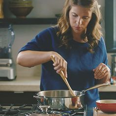 Sweating | A Chef's Life - How-To's with Chef Vivian Howard | Le Creuset