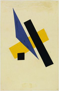 Lyubov Popova (Russian, 1889–1924) Untitled (1917)
