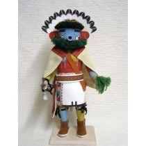 Antique Native American Hopi Carved Morning Singer Dancer Katsina Doll