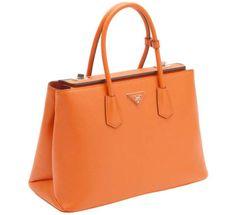 Prada Twin Bag, $2950, prada.com.