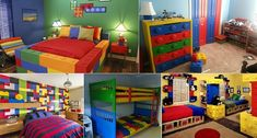 cool Awesome Lego-themed Bedroom Ideas!