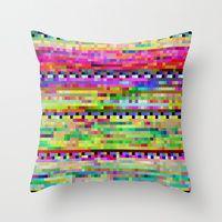 Throw Pillows by Benjamin Berg | Society6