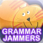 Grammar Jammers Primary Edition Grades K-5. Catchy animated songs and rhymes make English language arts exciting! Grammar Jammers animations will have you tapping your toes to the beat while learning grammar usage and mechanics. Each animation unlocks a quiz. Answer all the quiz questions for all the Grammar Jammers topics and unlock an interactive reward.