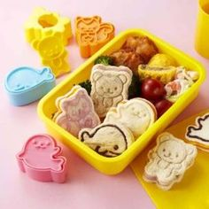 Japanese Bento Accessories Sandwich Cutter Squirrel Whale Seal