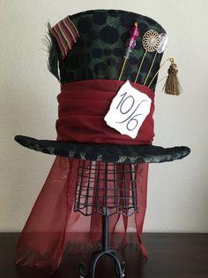 Loco Sombrerero sombrero de Disney Tim Burton, té, boda, regalo de Navidad, regalo de San Valentín