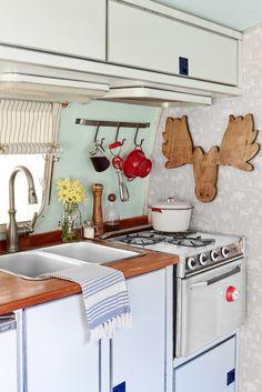 Airstream Makeover - Travel Trailer Decor