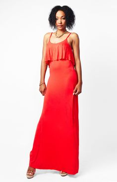 Red sporty summer dresses