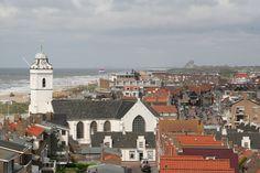 Uitzicht over Katwijk vanaf de vuurtoren