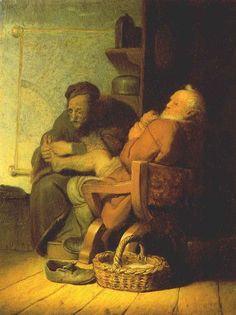 Rembrandt van Rijn - De voetoperatie