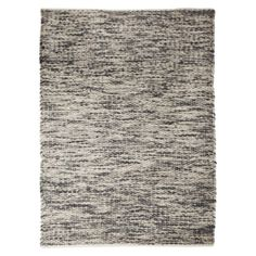 """$150 Threshold™ Twist Area Rug - Gray/Cream  Features: Indoor Rug Construction: Hand Woven Rug Material: Cotton ( 55 %) , Wool ( 41 %) , Nylon ( 3 %) Backing Material: No backing Care and Cleaning: Vacuum with Low-Powered Vacuum Cleaner Pile Type: Woven Dimensions: 84.0 """" L x 60.0 """" W Rug Size: 5'x7'"""