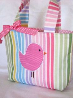 Cute idea for an Easter tote!