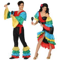 Pareja Rumberos Tropicales #parejas #disfraces #carnaval