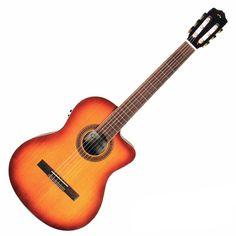 Cordoba C5-CESB Iberia Series Classical Guitar with Electronics - Sunburst