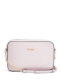 585316320eb7 Isabeau Top-Zip Cross-Body at Guess